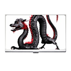 Dragon Black Red China Asian 3d Business Card Holders