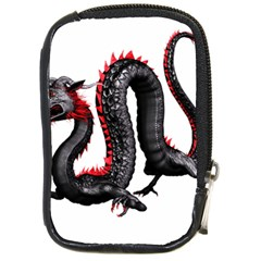 Dragon Black Red China Asian 3d Compact Camera Cases