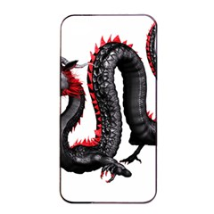 Dragon Black Red China Asian 3d Apple Iphone 4/4s Seamless Case (black)