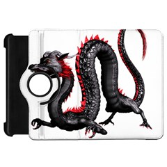Dragon Black Red China Asian 3d Kindle Fire Hd 7