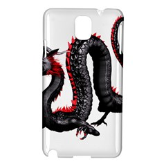 Dragon Black Red China Asian 3d Samsung Galaxy Note 3 N9005 Hardshell Case
