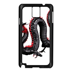 Dragon Black Red China Asian 3d Samsung Galaxy Note 3 N9005 Case (black)