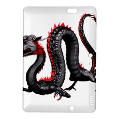Dragon Black Red China Asian 3d Kindle Fire Hdx 8 9  Hardshell Case
