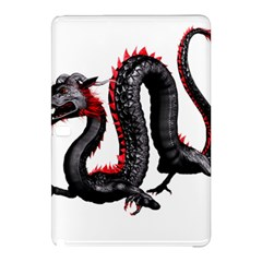 Dragon Black Red China Asian 3d Samsung Galaxy Tab Pro 12 2 Hardshell Case