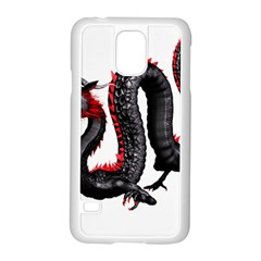 Dragon Black Red China Asian 3d Samsung Galaxy S5 Case (white)