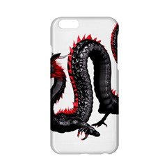 Dragon Black Red China Asian 3d Apple iPhone 6/6S Hardshell Case