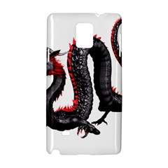 Dragon Black Red China Asian 3d Samsung Galaxy Note 4 Hardshell Case