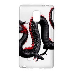 Dragon Black Red China Asian 3d Galaxy Note Edge