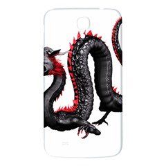 Dragon Black Red China Asian 3d Samsung Galaxy Mega I9200 Hardshell Back Case