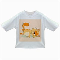 Even Cat Hates Monday Infant/toddler T Shirts