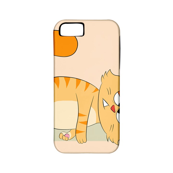 Even Cat Hates Monday Apple iPhone 5 Classic Hardshell Case (PC+Silicone)
