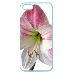 Flower Blossom Bloom Amaryllis Apple Seamless iPhone 5 Case (Color)