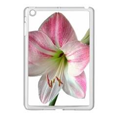 Flower Blossom Bloom Amaryllis Apple Ipad Mini Case (white)