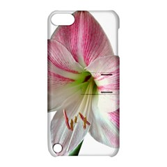Flower Blossom Bloom Amaryllis Apple iPod Touch 5 Hardshell Case with Stand