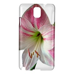 Flower Blossom Bloom Amaryllis Samsung Galaxy Note 3 N9005 Hardshell Case