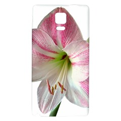 Flower Blossom Bloom Amaryllis Galaxy Note 4 Back Case