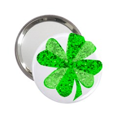 St Patricks Day Shamrock Green 2 25  Handbag Mirrors