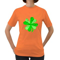 St Patricks Day Shamrock Green Women s Dark T Shirt