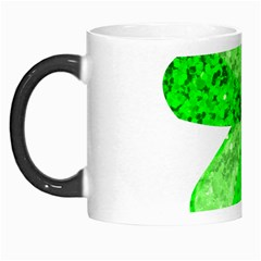 St Patricks Day Shamrock Green Morph Mugs