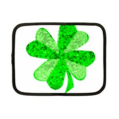 St Patricks Day Shamrock Green Netbook Case (Small)