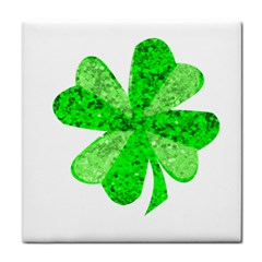St Patricks Day Shamrock Green Face Towel