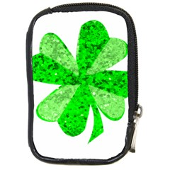 St Patricks Day Shamrock Green Compact Camera Cases