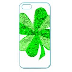 St Patricks Day Shamrock Green Apple Seamless iPhone 5 Case (Color)