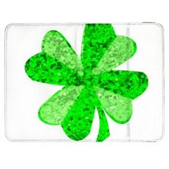 St Patricks Day Shamrock Green Samsung Galaxy Tab 7  P1000 Flip Case