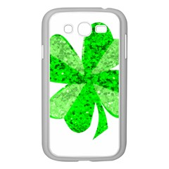 St Patricks Day Shamrock Green Samsung Galaxy Grand Duos I9082 Case (white)