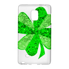 St Patricks Day Shamrock Green Galaxy Note Edge