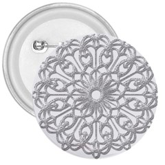 Scrapbook Side Lace Tag Element 3  Buttons