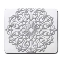 Scrapbook Side Lace Tag Element Large Mousepads