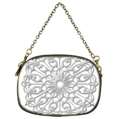 Scrapbook Side Lace Tag Element Chain Purses (One Side)