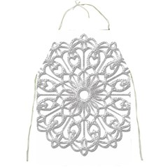 Scrapbook Side Lace Tag Element Full Print Aprons
