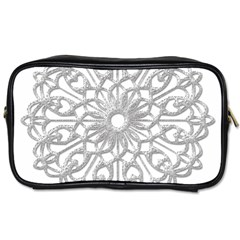 Scrapbook Side Lace Tag Element Toiletries Bags