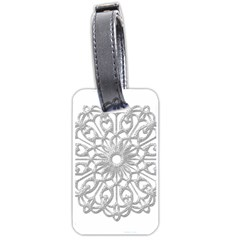 Scrapbook Side Lace Tag Element Luggage Tags (One Side)
