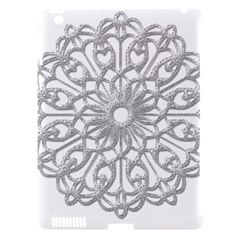 Scrapbook Side Lace Tag Element Apple Ipad 3/4 Hardshell Case (compatible With Smart Cover)