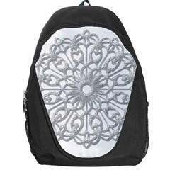 Scrapbook Side Lace Tag Element Backpack Bag