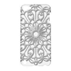 Scrapbook Side Lace Tag Element Apple Ipod Touch 5 Hardshell Case