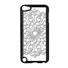 Scrapbook Side Lace Tag Element Apple Ipod Touch 5 Case (black)