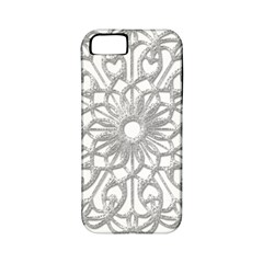 Scrapbook Side Lace Tag Element Apple Iphone 5 Classic Hardshell Case (pc+silicone)