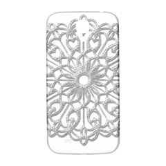 Scrapbook Side Lace Tag Element Samsung Galaxy S4 I9500/i9505  Hardshell Back Case
