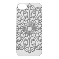Scrapbook Side Lace Tag Element Apple Iphone 5s/ Se Hardshell Case