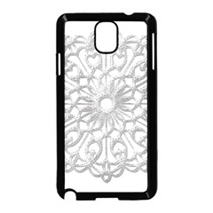 Scrapbook Side Lace Tag Element Samsung Galaxy Note 3 Neo Hardshell Case (black)