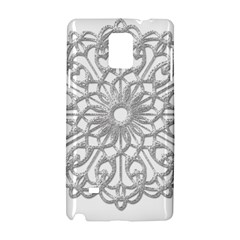 Scrapbook Side Lace Tag Element Samsung Galaxy Note 4 Hardshell Case