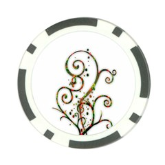 Scroll Magic Fantasy Design Poker Chip Card Guard (10 pack)