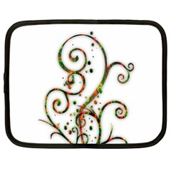 Scroll Magic Fantasy Design Netbook Case (xl)