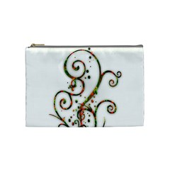 Scroll Magic Fantasy Design Cosmetic Bag (Medium)