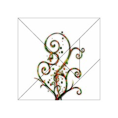 Scroll Magic Fantasy Design Acrylic Tangram Puzzle (4  X 4 )