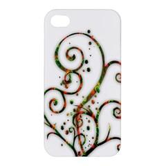 Scroll Magic Fantasy Design Apple Iphone 4/4s Premium Hardshell Case